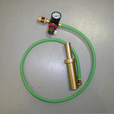 Space Saver Air Tension unit with hoses, coupler and gauge