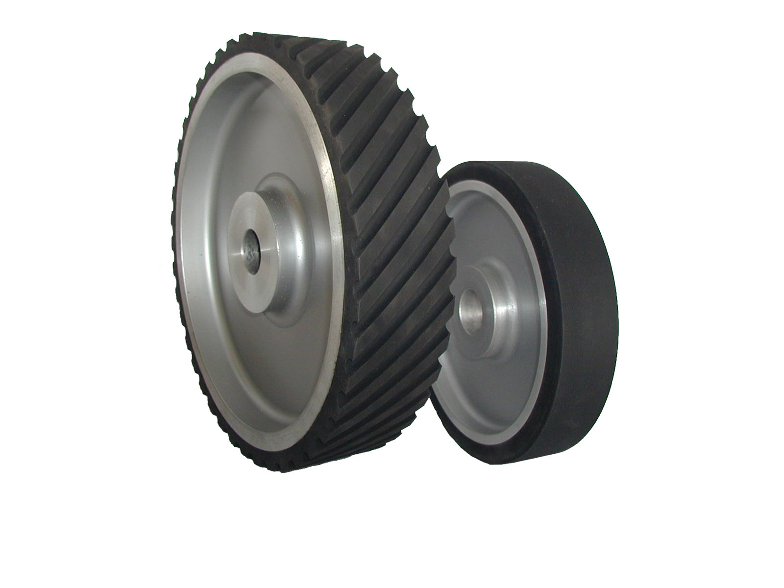 Neoprene Plain Faced 2 Inch Wide Contact Wheel Stephen Bader